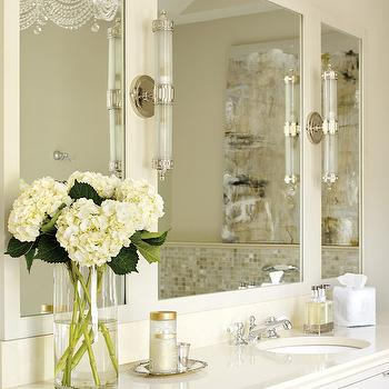 Wall Mounted Soap Dish Transitional Bathroom The
