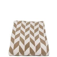 Decor/Accessories - in2green Chevron Throw Khaki | BLUEFLY - khaki and white geometric throw blanket, khaki and white chevron throw blanket, khaki and white chevron arrow throw blanket,