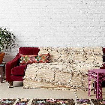 One-Of-A-Kind Moroccan Wedding Blanket I Urban Outfitters