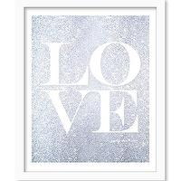 Art/Wall Decor - Silver Glitter Love Print Love Wall Art Glitter by I Etsy - silver glitter love art print, silver and white love wall art, matte silver and white love art print,