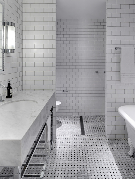 Bathroom Subway Tiles Modern Bathroom Tania Handelsmann