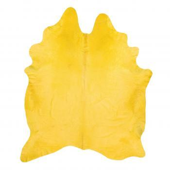 Rugs - Yellow Hide | Pieces - yellow hide rug, yellow cowhide rug, yellow dyed cowhide,