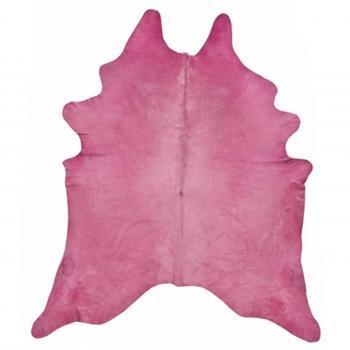 Rugs - Pink Hide | Pieces - pink cowhide rug, pink dyed cowhide rug, dyed cowhide rug, bright pink cowhide rug,