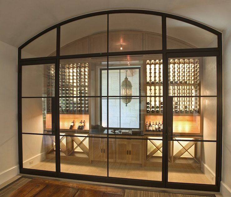 Wine Cellar Transitional Basement Ryan Street And