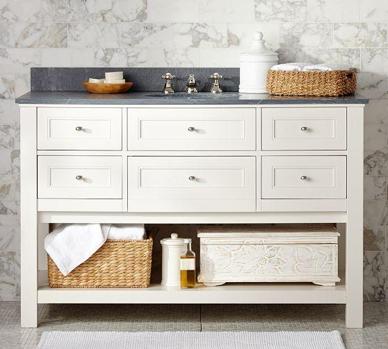 White Barn Sink : - White Pottery Barn - white sink vanity with drawers, white sink ...