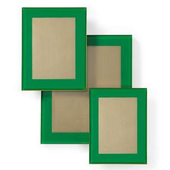 Art/Wall Decor - Taylor Frame | Z Gallerie - emerald green frame, emerald green photo frame, contemporary emerald green frame,