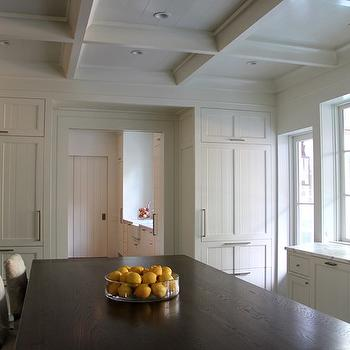 Coffered Ceiling Kitchen, Transitional, kitchen, Ruard Veltman Architecture