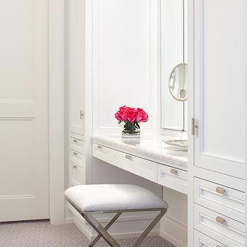Closet Vanity, Transitional, closet, Blair Harris Interior Design
