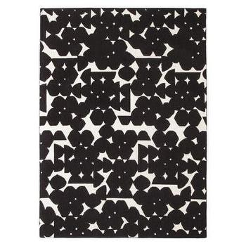 Rugs - Nate Berkus Area Rug - Black/Shell (5'x7') I Target - modern black and white rug, black and white abstract rug, contemporary black and white rug,