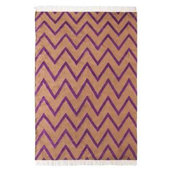 Rugs - Nate Berkus Purple Chevron Area Rug I Target - camel and purple chevron rug, camel and purple zig zag rug, purple and beige chevron rug,