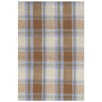 Rugs - Bunny Williams for Dash & Albert Moose Indoor/Outdoor Rug I Layla Grayce - blue and brown plaid rug, blue and brown plaid indoor outdoor rug, plaid indoor outdoor rug,
