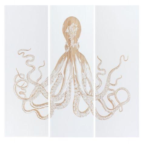 Octopus Panel Set Of 3 Z Gallerie