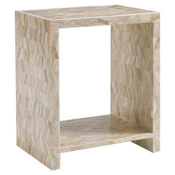 DwellStudio Hutton Side Table, DwellStudio