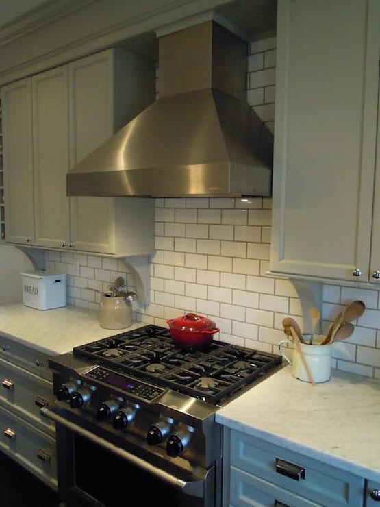 Bedford Gray Kitchen Cabinets Transitional kitchen