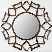 Mirrors - Safavieh Inca Sunburst Mirror | Wayfair - geometric sunburst mirror, geometric iron sunburst mirror, round geometric wall mirror,