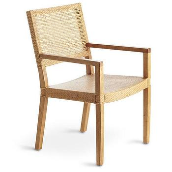 Seating - Modern Woven Armchair | Wisteria - modern woven arm chair, modern rattan chair, modern rattan arm chair,