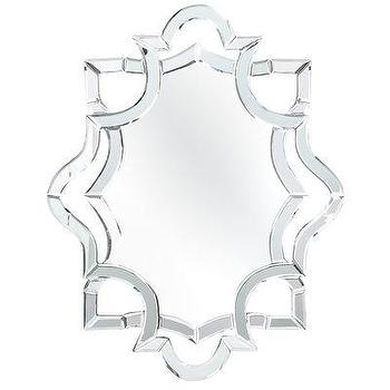 Mirrors - Reflections Mirror I Pier 1 - geometric mirror, geometric mirror framed mirror, geometric beveled mirror,