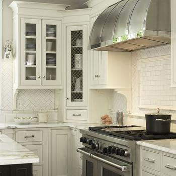 Corner Kitchen Cabinet, Traditional, kitchen, Christine Donner Kitchens