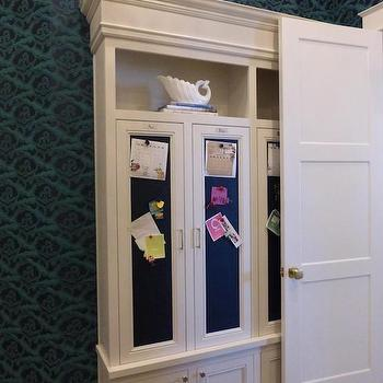 Mudroom Chalkboard, Transitional, laundry room, Caitlin Wilson Design
