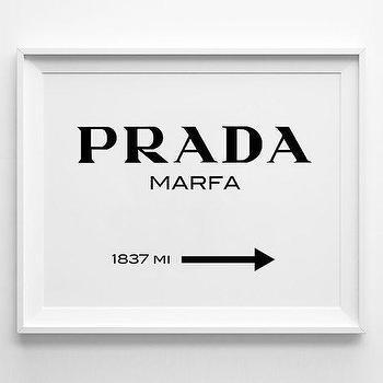 Art/Wall Decor - Prada Marfa Inspired Poster Typography Poster wall by sinansaydik I Etsy - prada marfa art print, prada marfa typography print, prada marfa directions art,