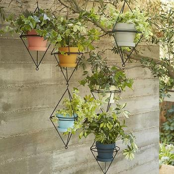 Hanging Brass Planter I Urban Outfitters