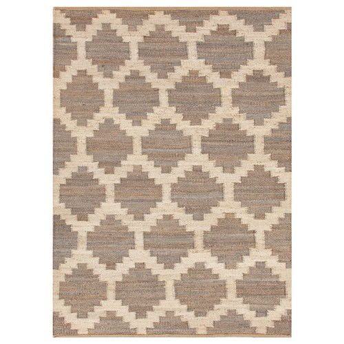 Zinc Door Jaipur Feza Souk Medium Gray Flatweave Rug Look 4 Less