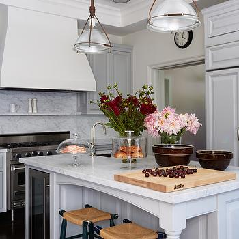 Island Wine Cooler, Transitional, kitchen, Kristen Panitch Interiors