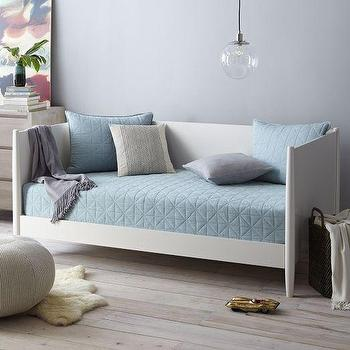 Mid-Century Daybed, White, West Elm