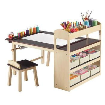 Tables - DwellStudio Kids Art Corner | DwellStudio - kids art table, kids craft table, modern kids art table, modern kids craft table,