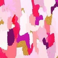 Art/Wall Decor - Jackie Giclee Abstract Fine Art Print 6x6 by ParimaCreativeStudio I Etsy - purple pink and gold abstract, pink gold glitter abstract, pink purple and gold abstract print,