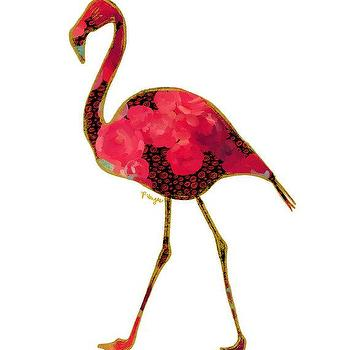 Flamingo Animal Art Print Number Two by ParimaCreativeStudio I Etsy