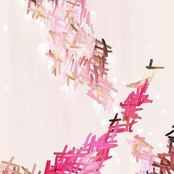 Art/Wall Decor - Mia Fine Art Giclee Print Abstract Print by ParimaCreativeStudio I Etsy - pink abstract art, digital pink abstract, tonal pink abstract, tonal pint abstract art,