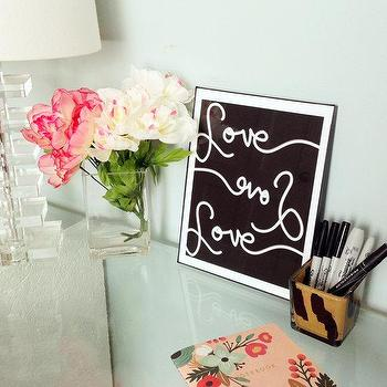 Art/Wall Decor - Love Love Love Typography Print by ParimaCreativeStudio I Etsy - love typography art, black and white love art, love love love art print,
