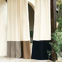 Window Treatments - Outdoor Bordered Panel | Ballard Designs - outdoor drapes, outdoor paneled, bordered outdoor drapes, bordered outdoor curtains, black bordered outdoor drapes, beige bordered outdoor drapes, gray bordered outdoor drapes,