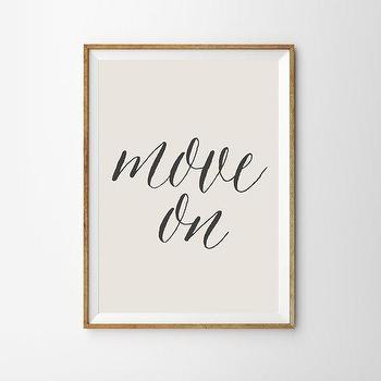 Art/Wall Decor - Sarcastic Wall Art Print Dorm Decor Gift for by alphonnsine I Etsy - move on wall art, move on art print, move on art,