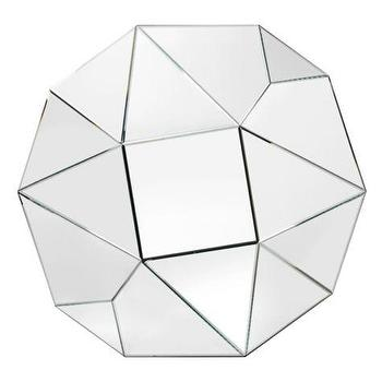 Mirrors - Carat Mirror | Z Gallerie - faceted mirror, modern geometric mirror, multi faceted geometric mirror, geometric mirror,