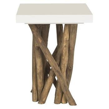 Tables - Safavieh Hartwick Side Table I Target - branch side table, branch based side table, white branch side table,