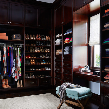 Built In Closet Cabinets, Transitional, closet, Andrew Howard interior Design