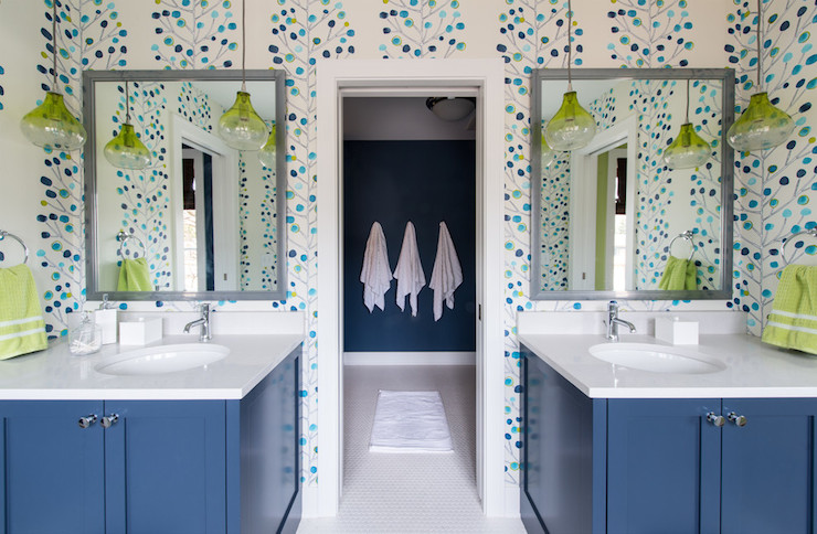 Kids bathroom ideas contemporary bathroom refined llc for Kids bathroom ideas for boys
