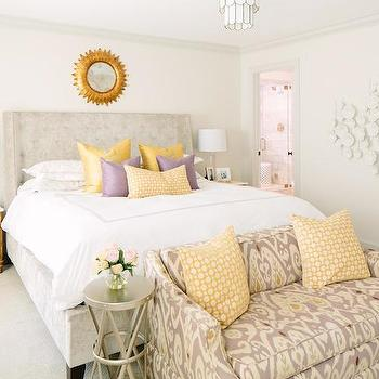 Bedroom Sofas, Transitional, bedroom, Natalie Clayman Interior Design