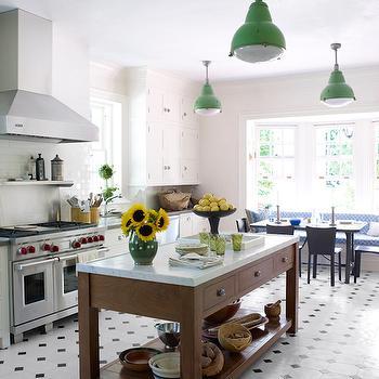 Eclectic, Kitchen, Veranda