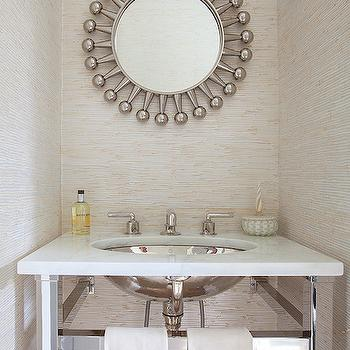 Tiny Powder Rooms, Contemporary, bathroom, Melanie Morris Design