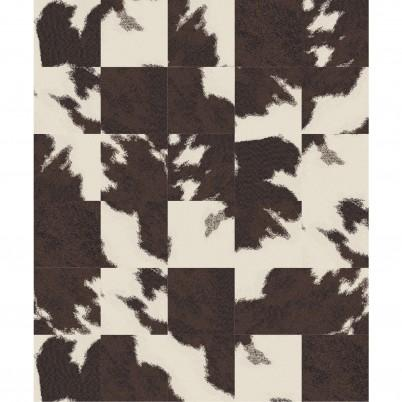 Mod Cow Ready Rug Brown 8 X 10 I Flor