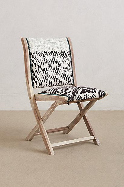 Terai Folding Chair I Anthropologie Com