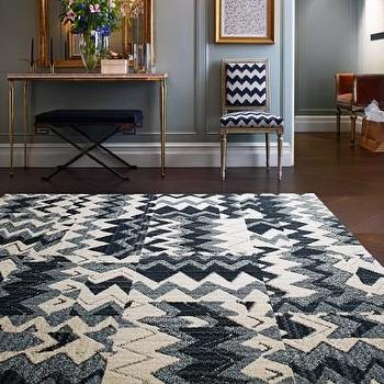 Rugs - Buy Jitterbug Memmories-Grey carpet tile I FLOR - gray chevron carpet tile, gray zigzag carpet tile, gray and ivory chevron carpet tile,