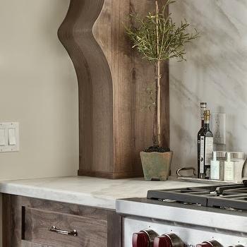 Alder Wood Kitchen Cabinets, Transitional, kitchen, Veranda Interiors