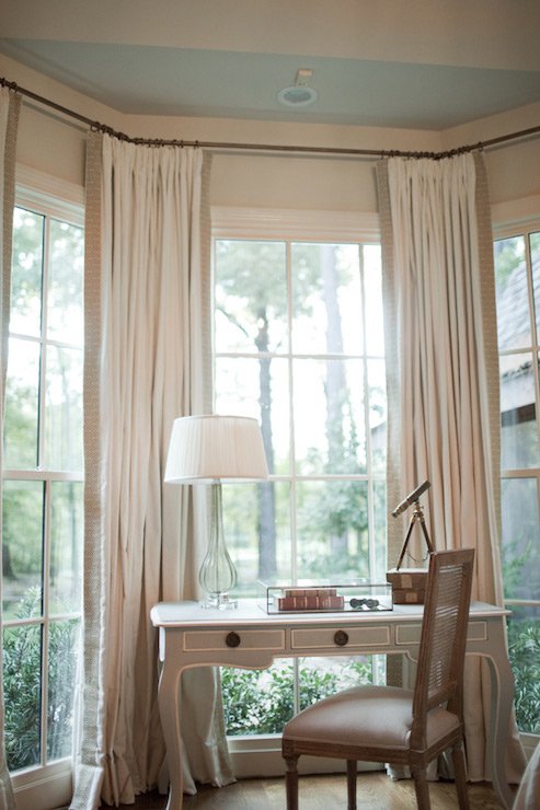 Bedroom Bay Window Curtains 28 Images