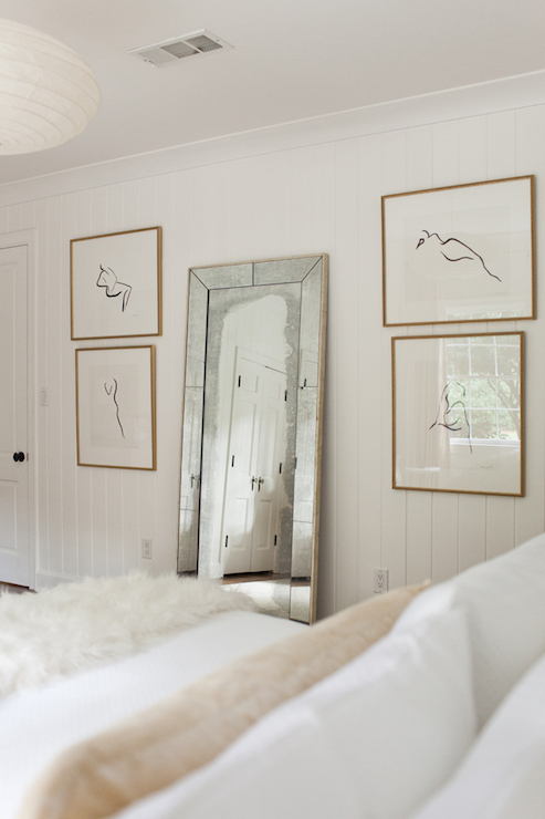 Bedroom Floor Mirror - Transitional - bedroom - Summer ...