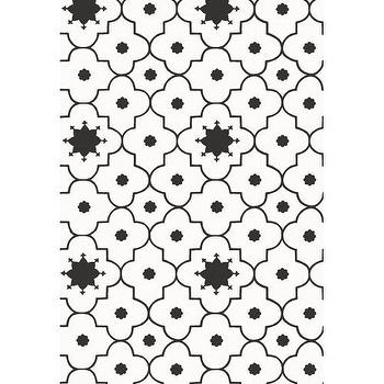 Wallpaper - Taj Trellis Wallpaper I Twenty One 7 - black and white lattice wallpaper, black and white latticework wallpaper, black and white geometric wallpaper,
