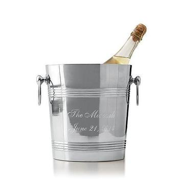 Decor/Accessories - Stainless Steel Ice Bucket | Mark and Graham - stainless steel ice bucket, ice bucket, personalized ice bucket,